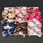Dúzia De Bicos De Pato Infantil Laços Animal Print