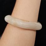 Bracelete Acrílico Mesclado Off White