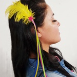 Presilha Carnaval Pena Amarela