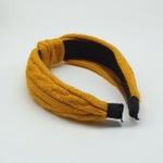 Tiara Nó Amarelo