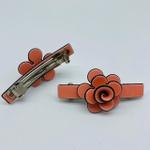 Presilha Flor Coral