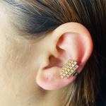 Piercing Fake (Uma Unidade) Zircônia Dourado