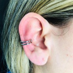 Piercing Fake (Duas Unidades) Prata