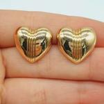 Brinco Coração Dourado