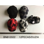 Boina Colorida Pacote com 12 peças
