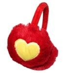 Protetor De Orelha Infantil Coração Vermelho