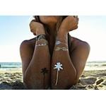 Tatuagem Metálica Flash Tattoo Tropicália