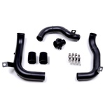 Charge Pipe e Boost Pipe com Muffler Delete Golf GTI MK7 & Audi A3 S3 8V Haustech Motorsports