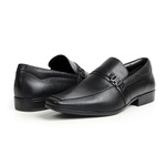 Sapato Social em Couro Preto - Moema
