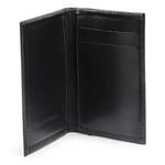 Porta Cartões em Couro - Preto