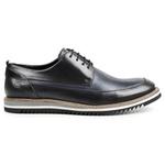 Sapato Casual em Couro Azul - Tropez