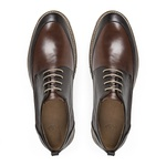 Sapato Casual em Couro Café- Tropez