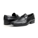 Sapato Social em Couro Preto - Lapa