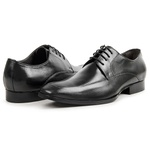Sapato Social em Couro Preto - Fiore