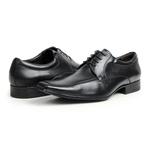 Sapato Social em Couro Preto - Nomad