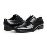 Sapato Social em Couro Preto - Chelsea