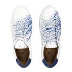 Tênis Branco / Azul - Tahoe Colors