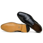 SAPATO SOCIAL MASCULINO OXFORD CNS HOUSTON 01 PRETO