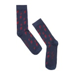 MEIA SOCKS ON THE BEAT BOWIE NAVY