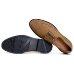 SAPATO CASUAL MASCULINO DERBY CNS BROGUE HOOK TABACO
