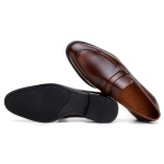 SAPATO SOCIAL MASCULINO LOAFER CNS GORE WHISKY