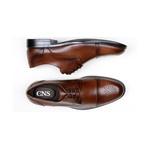 Sapato Social Masculino Derby CNS Brogue 71008 Havana
