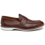 Sapato Casual Masculino Mocassim CNS 301023 Conhaque