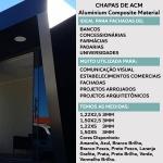 Chapa De Acm Coberchapas Verde 3mm 122 x 500