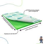 Chapa De Policarbonato Alveolar 1,05x3,00 4 Milímetros Verde