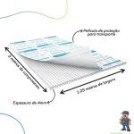 Chapa De Policarbonato Alveolar 1,05x3,00 4 Milímetros Cristal Transparente