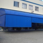 Toldo Cortina 2,00m x 2,75m - Azul