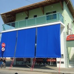Toldo Cortina 3,00m x 2,75m - Azul