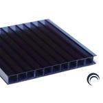 Kit 2 Chapa de Policarbonato Alveolar 2,10x6,00 6 Milímetros e Acessórios para Instalação