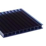 Kit 3 Placas De Policarbonato Alveolar 2,10x6,00 6 Milímetros e Acessórios Para Instalação