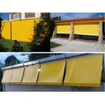 Toldo Cortina 4,00m x 2,75m - Amarelo