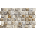 Revestimento De Encaixe Caixa 1,46m² 57,5X32 HD 260006 - Marmogres