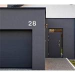 Algarismo Residêncial Em ACM Polido 19cm Nº0 Ao Nº9 - Comercial Pinhati