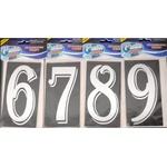 Algarismo De Vidro Max Nº0 Ao Nº9 - Pratic