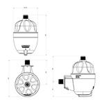 Maxi Aquecedor Ultra 220V/5500W - Lorenzetti