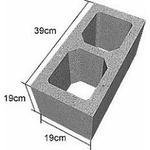 Bloco de Concreto Vedação 19x19x39cm