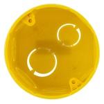Caixa De Luz Octogonal Tigreflex 3X3 Amarela - Tigre
