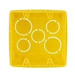 Caixa De Luz Tigreflex 4X4 Quadrada Amarela - Tigre