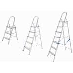 Escada Doméstica de Alumínio - 3, 5, 6 e 7 Degraus