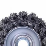 Escova Tipo Copo 100mm - M14x2 Em Aço Carbono - Tafort