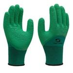 Luva Têxtil com Revestimento em Látex Verde G - Super Safety