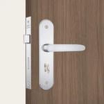 Fechadura Carpi Para WC (Banheiro) 824/11 Em Inox - Stam