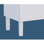 Gabinete Em Aço Vênus 2 Portas + Tanque De Mármore Duplo - Cozimax