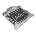 Visor Para Relógio De Água Prata Nº9 19cmX17,5cm - Fortral
