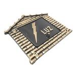 Visor Para Relógio De Luz Ouro Nº16 18cmX19cm - Fortral
