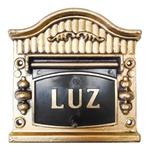 Visor Para Relógio De Luz Ouro Nº3 19cmX17,5cm - Fortral